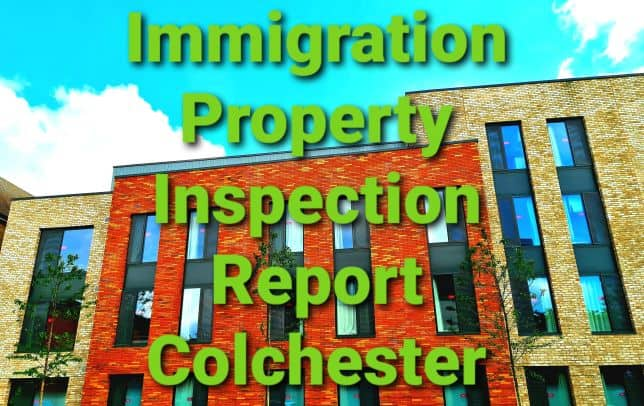 Immigration Property Inspection Report Colchester