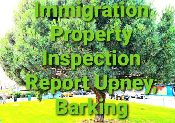 Immigration Property Inspection Report Upney, Barking
