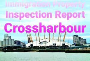 Property Inspection Report Crossharbour, East London for Immigration