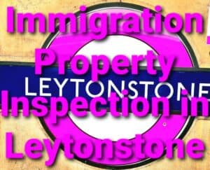 Immigration Property Inspection Report Leytonstone, East London