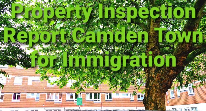 Property Inspection Report Camden Town for Immigration